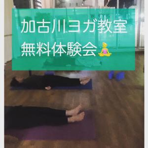 2/14(金)無料体験会アンチエイジングヨガ 加古川