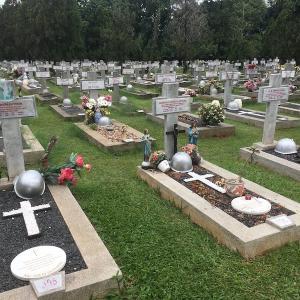 インドネシアで火葬場見学 東ジャワ・マランのキリスト教華人の場合