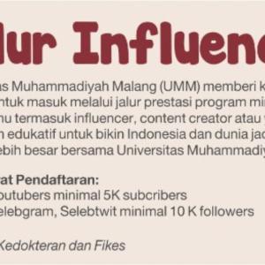 インドネシアの大学が「インフルエンサー入試」枠を導入で話題に!