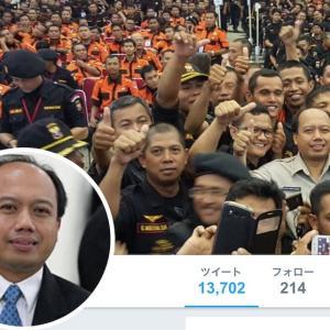 ストポ・ヌグロホ報道官が死去 インドネシア国家防災庁への尽力と努力