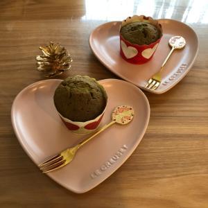 黒豆抹茶パウンドケーキ♡