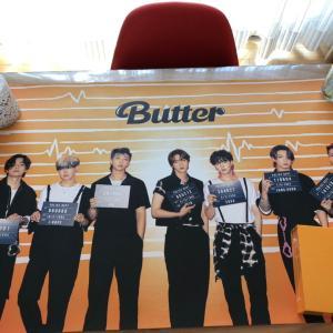 butter届いたー♡カードは…♡