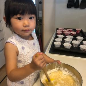 カップケーキ作りとキッズお料理教室