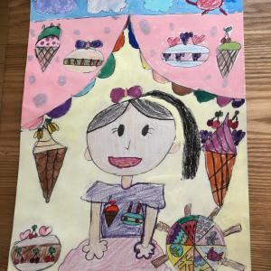 夏休みの宿題☆絵画教室と読書感想文