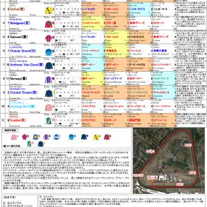 2019年キングジョージ6世&クイーンエリザベスS(英G1)馬柱表・コース図