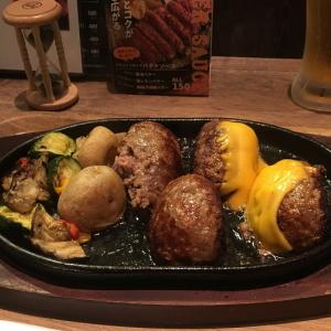 [大阪グルメ]  LUCUA FOOD HALL HANBURG&STEAK