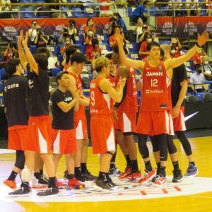 AKATSUKI FIVE バスケットボール男子日本代表 vs ベルギー代表