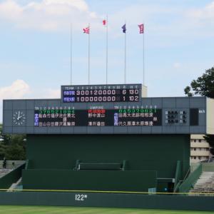 第103回全国高校野球選手権栃木大会 準決勝 作新学院 対 宇都宮短期大学附属高校
