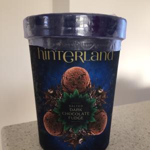 ソルテッドダークチョコアイス