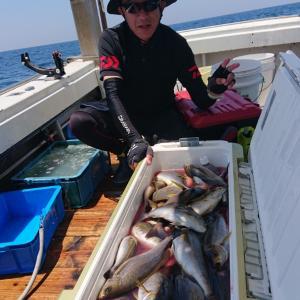 6月22日イサキ釣り