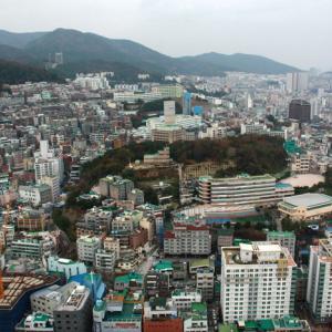 〈釜山旅行〉思ったよりも面白い! 龍頭山に登る道 その4