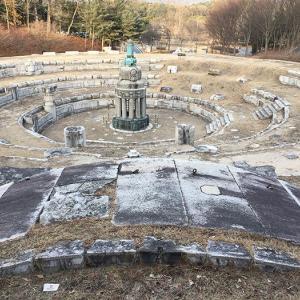 朝鮮総督府の残骸を見に天安へ