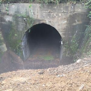 昔の中央線の路線に日本統治時代のトンネルが!?