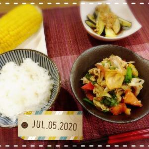 我が家(家族5人息子3人)の夕ご飯☆食費1週間1万円に挑戦☆44