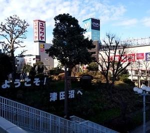 津田沼駅の面影が・・・