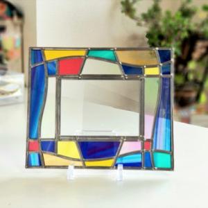 グラスアート工房RayColors教室の作品達