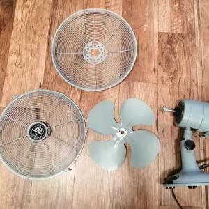扇風機とエアコン掃除