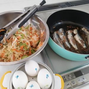 本日の夕飯準備と冷蔵庫の作り置き