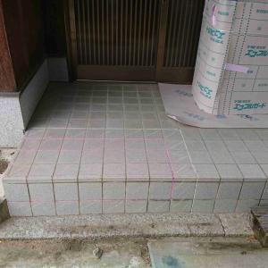 三豊市T様邸玄関ポーチの段差改修