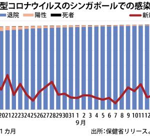 シンガポールでは新型コロナの死者数がわずか27人で人口比で世界最小。日本の3分の1で済んでいる成功の秘訣はやはり早期の徹底した検査。人口比で日本の8・5倍検査していた!