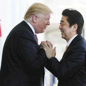 さらばトランプ!兵器爆買いでトランプ氏を支えた安倍前首相。この人と仲良くしたのが「外交の安倍」の最大のセールスポイント、っておかしくね?!(笑)。