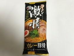 激情ラーメンカレー豚骨(五木食品)