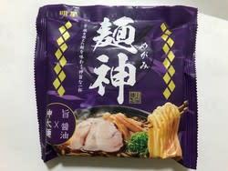 麺神 神太麺×旨 醤油(明星食品)