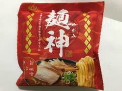 麺神 神太麺×旨 味噌(明星食品)