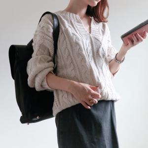 Code♡今季必須のキーネック/秋のママリュック