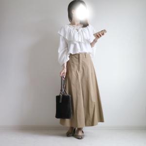 秋にぴったりのUNIQLOスカート