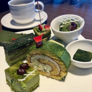 久々のビュッフェで抹茶デザート! アートホテル大阪ベイタワー