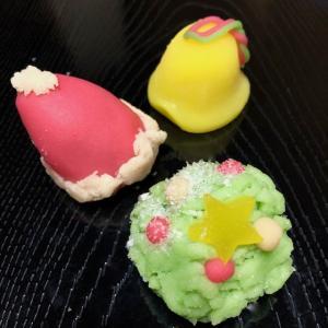 鶴屋八幡 和菓子でクリスマス