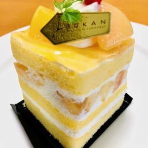 五感 桃とメロンのケーキ