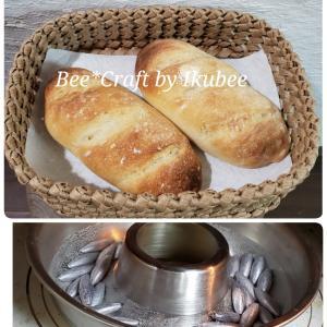 発酵だねのフランスパン♪