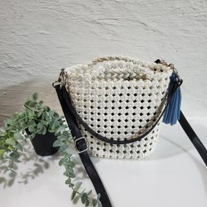 夏用の白いバッグ♪