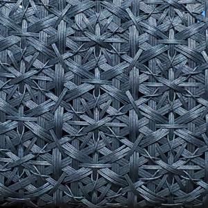 地模様みたいな華編み♪