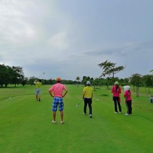 14日、Thanont Golfとそば打ち