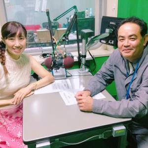 今朝のゲストは、餃子の王様(笑)県内やアジアで大人気の琉珉珉代表❣ルーツは満州!