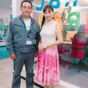 今朝のゲストは沖縄からアジアへ餃子のヒットで新境地を開いた大人気店3代目社長❣️