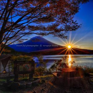 今日の富士山 10/13撮影