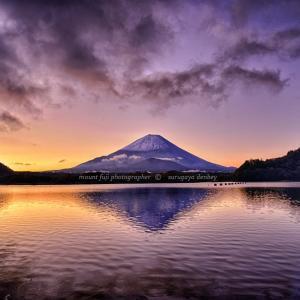 10/22 富士山冠雪発表