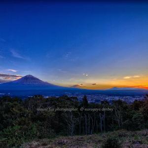 今日の富士山 11/8撮影