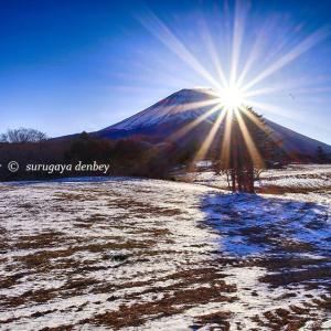Today's mount fuji【Asagiri kougen】1/21