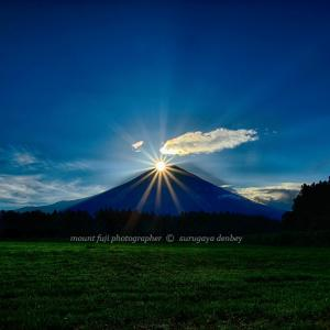 Today's mount fuji  2020 8/13撮影
