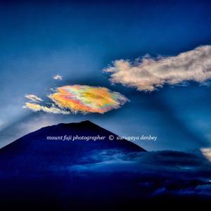 次々と消えては現れる彩雲のパレードだった【其の2】