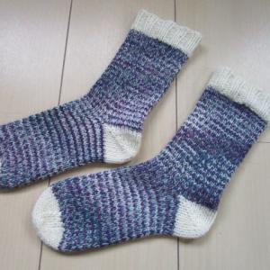 手編みの靴下を基礎から