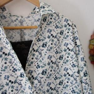 スキッパーシャツを縫う