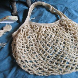 ネットバッグを編んでみる