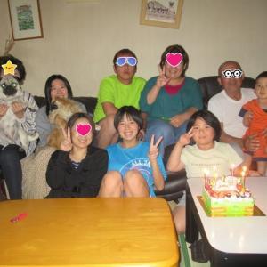 みゆちゃん誕生会七歳になりました☆彡