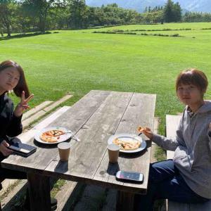スクーリング② ガーデン巡り チーズ作り体験
